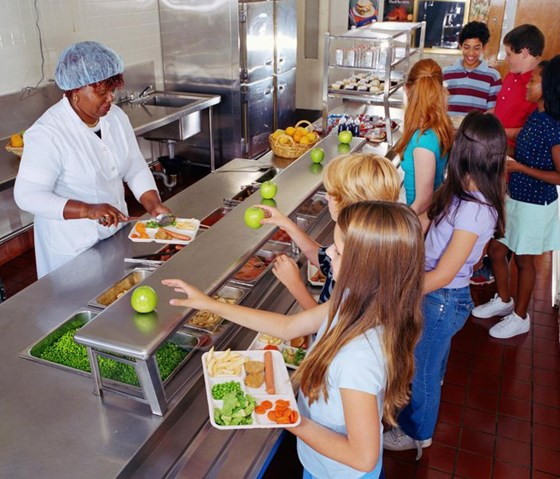 Linking parents to their children's school lunches